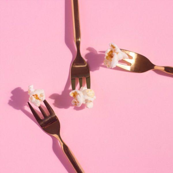 Pink background slider image