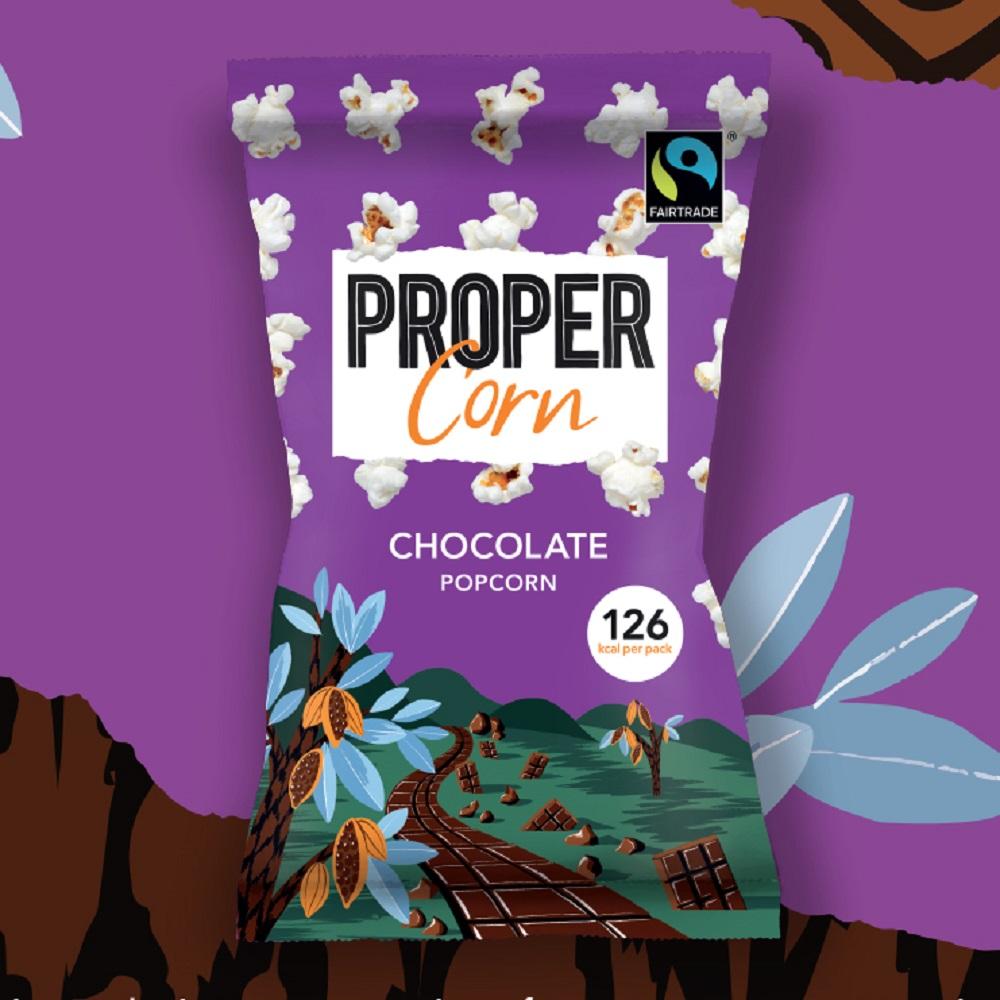 Propercorn Chocolate Popcorn